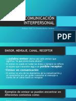 COMUNICACIÓN INTERPERSONAL clase 2.pptx