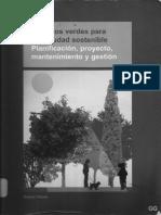 Falcón, Antoni - Espacios Verdes Para Una Ciudad Sostenible. Pl