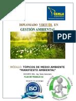 Plan de Trabajo- Manifiesto Ambiental-1