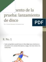 Reglamento Disco