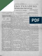 El Obrero panadero Año 1, número 1_20 septiembre, 1895