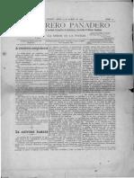 El obrero panadero Año 1, número 11_14 marzo, 1895