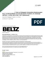 ZfPaed 1 2001 Suter Rezension Schleiermacher Texte Paedagogik D A