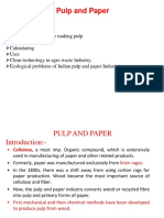 Report of paper and pulp