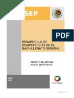Desarrollo de Competencias en El Bachillerato General-manual_instructor
