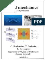 Kochukhov Fluid Mechanics Compendium