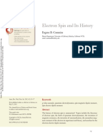 Electron Spin and Its History - Eugene D. Commins