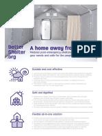 Better-Shelter 1.2 Factsheet En