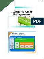 Reliability Asset Management
