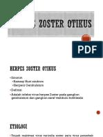 Herpes Zoster Telinga