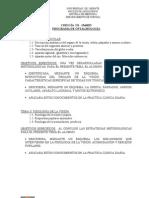 Programa Oftalmología - Cirugía III