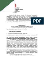 Tekst Oglasa Za Pripravnike Za KPZ u Pančevu 2