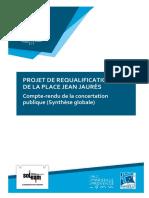 Dossier Concertation Plaine Bilan