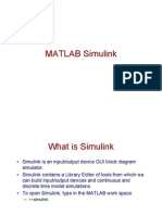 Using Matlab Simulink