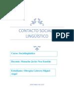 Contacto Social y Lingüístico Angel