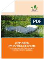 Off Grid Pv Systems System Installation Guidelines