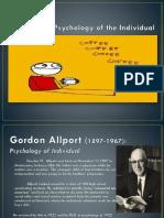 Gordon Allport (1897-1967)