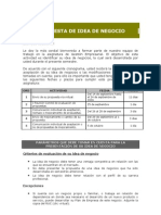 Formula Rio Idea de Negocio