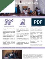 Better-Shelter 1.0 Factsheet Digital