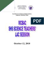 LAC Session