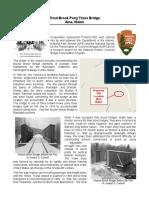 Straw Bridge Blueprint
