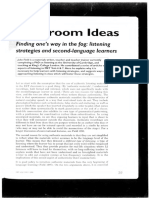 Finding one's way in the fog listening strategies and second-language learners.pdf