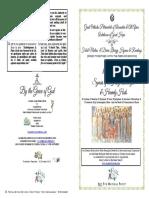 2018-8 Nov-holy Archangels-festal Matins & Div Lit Hymns