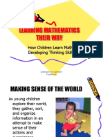 Presentation SG9a_Developing Thinking Skills_How Children Learn Math