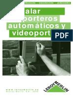 34389538 Instalacion de Porteros Electricos y Videoporteros