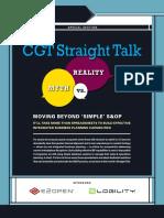 CGT Straight Talk on IBP