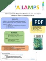 design brief template - lava lamps