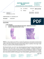 Liver Sample Report