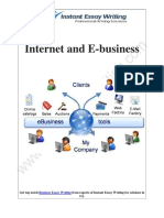 Analyzing the Use of intranet and extra-net in E- Business