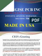 Synergise PCB Inc PCB, FPC & PCBA Manufacturer
