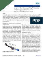 Design of Screw Conveyor as Heat Exchanger Using Water Jacket.pdf
