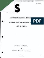 JIS B2001 [1987]