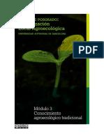 Modulo 3 Conocimiento Agroecologico Tradicional 2018