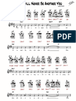 ThereWillNeverBeAnotherYou TedGreene Arr Grids and Notation p1