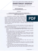 Hasil Seleksi Administrasi CPNS Inhu 2018