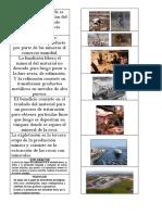 PRODUCCIÓN MINERA - Etapas de La Minería  a cielo abierto