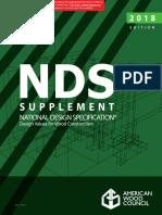 2018 NDS Supplement