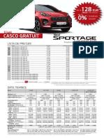 KIA Sportage - Catalog & Pret