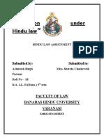 Table of Hindu
