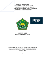 Adm Al-qur'an Hadits 2018-2019 Kelas 7