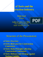 Presentation on Tort-Construction.ppt