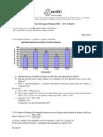 Matematica - Gabarito - AP2- 2016.1