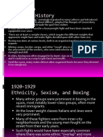 Boxing 1920-1929
