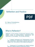 Reflection Christodoulou