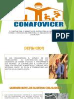 contribucion conafovicer