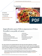 Receta de Fideos japoneses (Udon Noodle) con pollo al curry.pdf